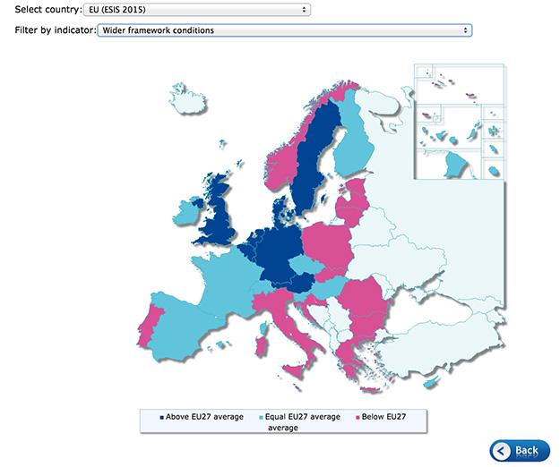 updated european service innovation scoreboard published the rh ec europa eu Missouri State Map Missouri State Map