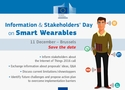 Information and Stakeholders' Day on Smart Wearables
