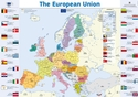 Wallchart featuring a map of Europe