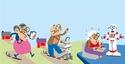 Cartoon ageing