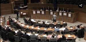 STOA think tank meeting at European Parliament
