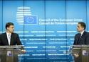 Mr Valdis DOMBROVSKIS, Vice President of the European Commission; Mr Peter KAZIMIR, Slovak Minister for Finance. © European Union