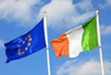 EU and Ireland flags © iStockphoto