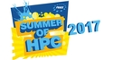 This is the logo of the Prace Summer of HPC 2017, with text