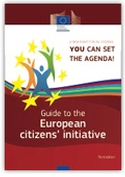 'Guide to the European citizens' initiative' cover