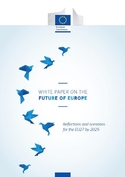 'White Paper on the Future of Europe' cover