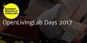 OpenLivingLab Days 2017 banner