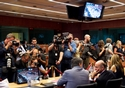 Press opportunity before Eurogroup meeting © European Union , 2017