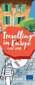 'Travelling in Europe 2017-2018' cover