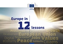 'Europe in 12 lessons' cover