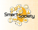 This is the logo of the Smart Society project. There are no pictures.