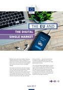 'The EU and the Digital Single Market' cover