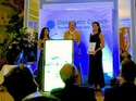 photo taken at the Award ceremony: Smart Service Power receives an award for their efforts