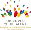Logo of European Vocational Skills Week 20-24 November 2017