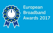 Logo of the European Broadband Awards 2017