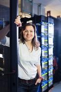 Picture of project coordinator Estela Suarez