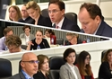 Composite from 19 October seminar for journalists @ European Commission , 2017