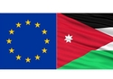 The European and Jordan flags, image from webpage © European Commission , 2017