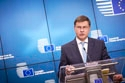 Mr Valdis Dombrovskis, Vice-President of the European Commission at 3571st ECOFIN Council © European Union, 2017