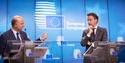 Pierre Moscovici and Jeroen Dijsselbloem at Eurogroup meeting © European Union, 2017