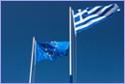European and Greek flag © iStockphoto