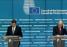 Image from the Economic and Financial Affairs Council press conference 27/01/2017 © European Union, 2017