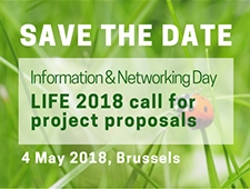 LIFE Information Day 2018 event date