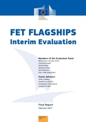 Cover page of the FET Flagships report