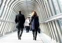 People walking in a building © European Union, 2017