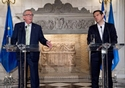 Visit by Jean-Claude Juncker, President of the EC, to Athens. Alexis Tsipras, Greek prime minister, on the right © European Union, 2018