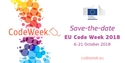 Visual with EU Code Week save-the-date: 6-21 October