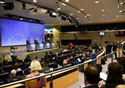 Press conference on the conclusions of the EC College meeting by Valdis Dombrovskis, Vice-President of the EC, by Marianne Thyssen and Pierre Moscovici, Members of the EC, on the European Semester Spring Package, © European Union, 2018
