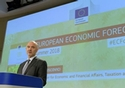Pierre Moscovici, Member of the EC in charge of Economic and Financial Affairs, Taxation and Customs, helds a press conference of on the Summer Interim Forecast. © European Union, 2018