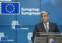 Mario CENTENO, Portuguese Minister for Finance, press conference of the Eurogroup meeting © European Union, 2018
