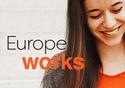 """""""Europe works"""" logo © European Union, 2018"""