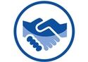 handshake symbol © European Union, 2018