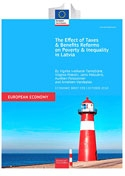 The Effect of Taxes and Benefits Reforms on Poverty and Inequality in Latvia