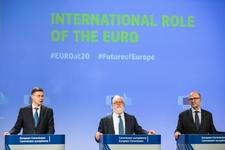 Valdis Dombrovskis, Miguel Arias Cañete, Pierre Moscovici © European Union, 2018