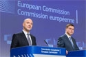Valdis Dombrovskis, on the right, and Pierre Moscovici @European Union, 2018