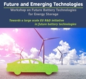 Cover page of the report including text and an image of a car and windmills with a sky and clouds background
