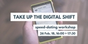 TakeUpTheShift banner; photo of a cellphone with eHealth App