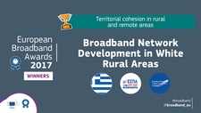 Illustration of the good practice Broadband Network Development in White Rural Areas of Greece