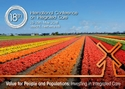 ICIC18 poster showing flower fields