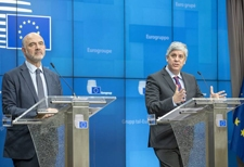 Eurogroup Press conference, Mr Pierre MOSCOVICI and Mr Mario CENTENO © European Union, 2019