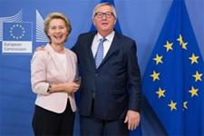 Jean-Claude Juncker, President of the EC, receives Ursula Von der Leyen, Candidate for President of the EC © European Union, 2019