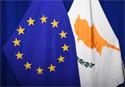 The national flag of Cyprus next to the European flag © European Union, 2019