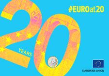 Logo of Euro at 20 © European Union, 2019