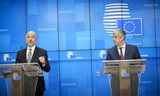 Mr Pierre MOSCOVICI, European Commissioner for Economic and Financial Affairs, Taxation and Customs; Mr Mario CENTENO, President of the Eurogroup
