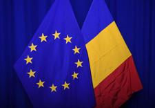 The national flag of Romania next to the European flag © European Union, 2020
