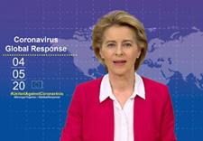 Press conference of Ursula von der Leyen on the EU's response to the COVID-19 crisis © European Union, 2020